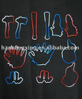 Silicone rubber bands