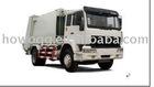 HOWO 4*2 compressed garbage truck