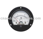 Round Panel 65 Moving Iron Instruments AC Ammeter /analog panel meter/panel meter/voltage and current meter panel meter