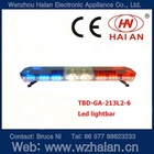 6 led modules led warning lightbar