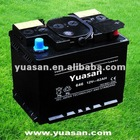 Yuasan Most Reliable 12V62AH Starter Dry Battery Accumulators