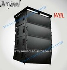 15 inch outdoor line array speaker, stage equipment (W8L)