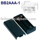 2AAA Battery Holder/Cell Box