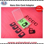 new accessories for iphone 5 nano sim card adaptor NS02