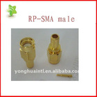 RP-SMA Crimp Plug Connector for RG174 cable