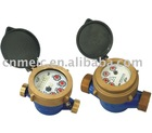 Single-jet Wet type water meter