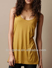 2012 Women Sleeveless Cotton t-shirt Hst-068