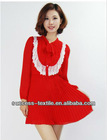 ladies' fashion atypical cotton print sleeveless slim empire waist long dress