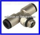 brass body plastic sleeve,pneumatic product