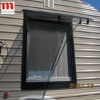 motorhouse alluminum frame acrylic glass side window