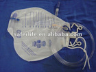 High quality 2000ml sterile luxury urine bag Bed sheet hanger with valve