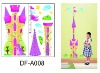Castle Height wall stickers for girls