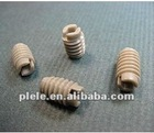 slotted sockt set screws (PC/Nylon)