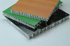 aluminium honeycomb panel for curtain wall