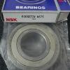 6309 6309ZZ 6309-2Z 6309-ZZ NSK deep groove bearings