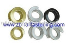 Fe 6 double coil spring washer