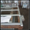 custom sheet metal fence fabrication