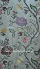 yarn dyed silk jacquard upholstery fabric for sofa curtain
