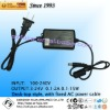12V 1A 1.2A 15V 1A desktop CCTV adaptor