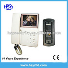 Hot B/W Video door phone video intercom system with Metal Pin-hole camera