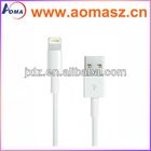 1m white 8pin lightning usb data cable driver for iPhone 5,ipod