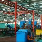 manual single girder suspension crane