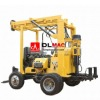 42-60mm drill rod hydraulic water drilling rig with trailer mounted