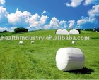 white silage wrap film(750 or 500mm width )