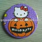 kitty botton badge
