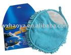 microfiber chenille 2 in 1 car wash mitt