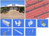 Pitch roof mounting system(tile roof)
