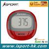 Digital Motion Sensor Red Simple Pedometer