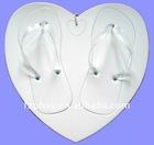 Romantic Love shape women EVA board slipper