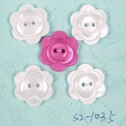 latest 2 holes flower style kids button for clothing (S2-1035)