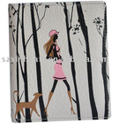 (XHF-WALLET-006) cartoon printed pu wallet purse for lady