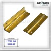 gold plating door hinges