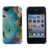 Back Cover For iPhone 4g With IML Technology and ABS Material