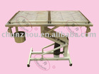 Stainless steel Hydraulic lift treating table for vet/H-202