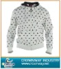 Allover print hooded sweatshirt