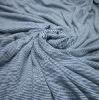 85%Viscose15%Linen Blended Stripe Single Jersey Knitting Fabric