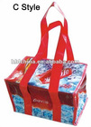PP woven insulated lunch bag