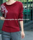wx120912 ladies fashion t-shirt