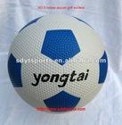 rubber football/soccer ball ,size :5/4/3,golf surface