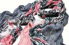 spring summer light fashion print scarf