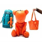 bear folding recycle bag/environment-friendly bags
