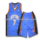 Summer V neck sleeveless men's basketball wear dry fit basketball training suit