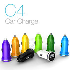 New Cheap Car Battery Charger for Samsung Galaxy s3/iphone4/4s/5 through Car Cigarette Lighter