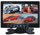 "7"" Car Stand Alone TFT LCD Monitor with Video Splitter S-HR7007 VS"