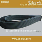 Nissan auto spare part transmission rubber poly ribbed v belt OEM 117204M511 6PK820