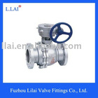 2pcs manual stainless steel ball valve